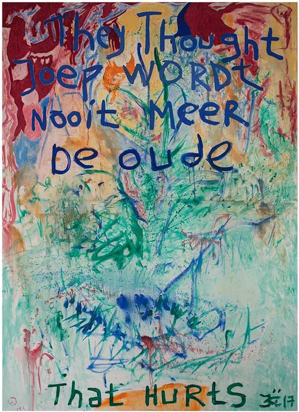 Joep Konings Presentatie Kunstenaarshuizen Amsterdam