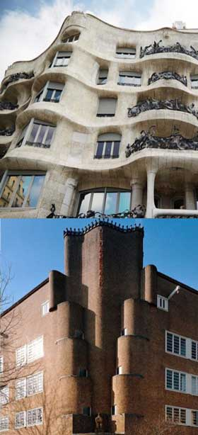 Gaudi en de Amsterdamse School