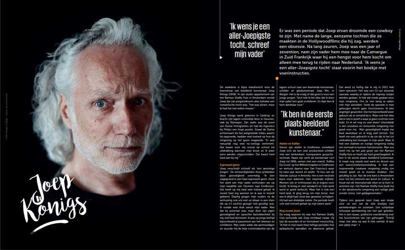 Fame magazine Ramses Shaffy Huis - Joep Konings