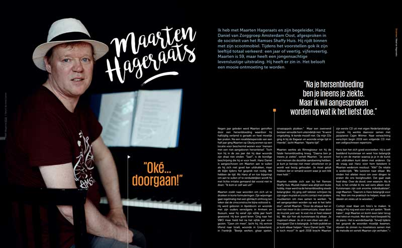 Fame magazine Ramses Shaffy Huis- Maarten Hageraats
