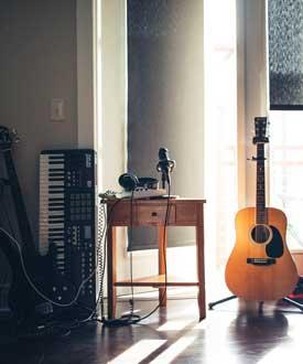 Muziek voor en door buren