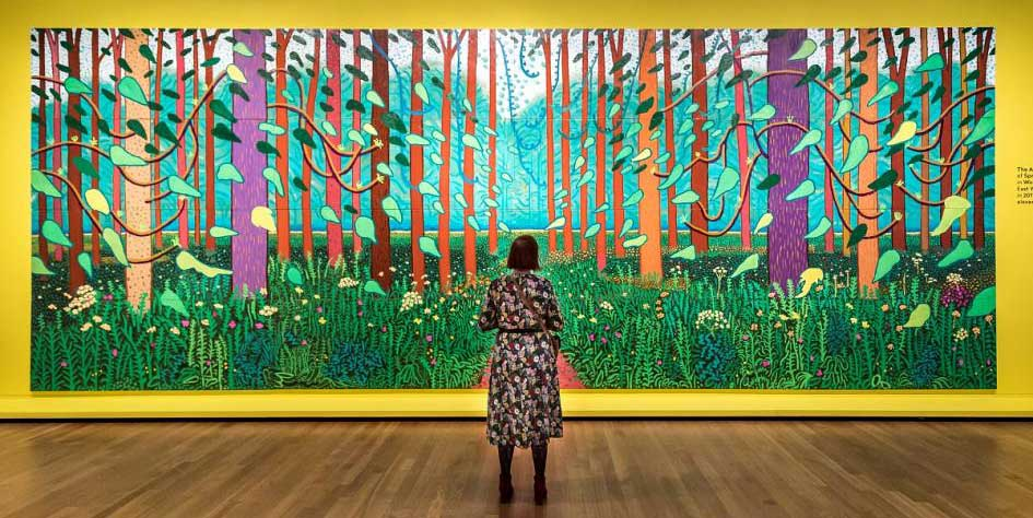 Hockney en Van Gogh