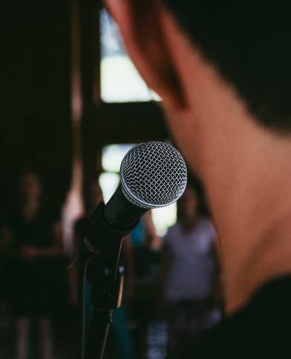 Shaffy Poezië podium Ramses Shaffy Huis