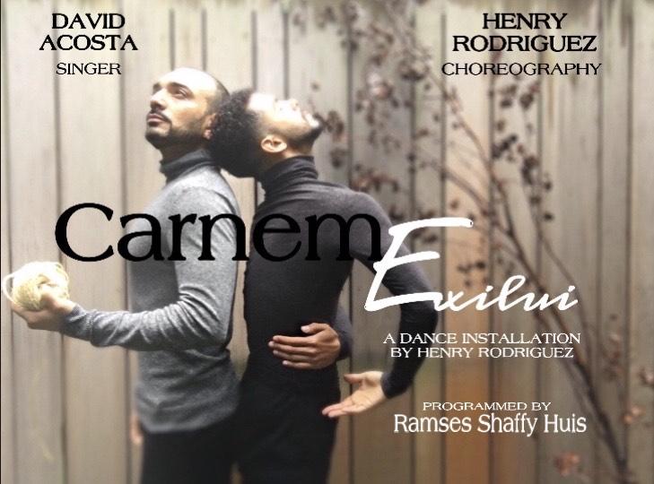 Carnem Exilui a dance installation